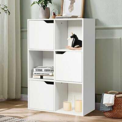6 Cube Wood Storage Shelves Organization - Wayfair