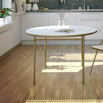 Lanoue 44'' Plastic Circular Portable Folding Table - Wayfair