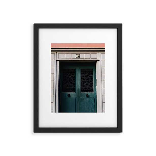 """Montmartre V by Bethany Young Photography - Modern Framed Art Print Black 11"""" x 14"""" - Roam Common"""