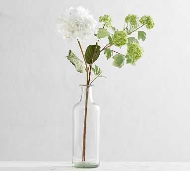 Faux Hydrangea Viburnum Bouquet, White - Pottery Barn