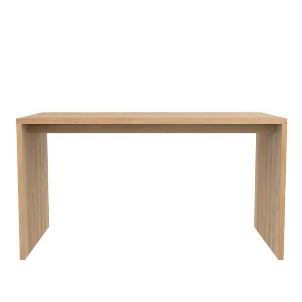 "Ethnicraft Solid Wood Writing Desk Size: 29.53"" H x 55.12"" W x 28.35"" D - Perigold"