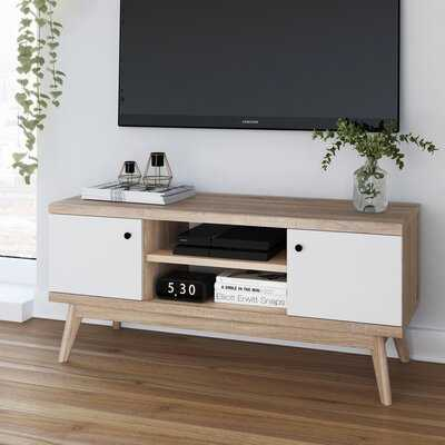 """Cockfosters Enclosed Storage TV Stand for TVs up to 49"""" inches - Wayfair"""
