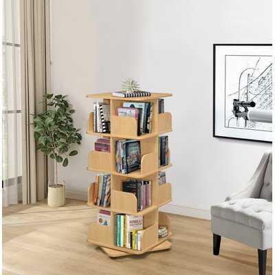 Bollig Geometric Bookcase - Wayfair