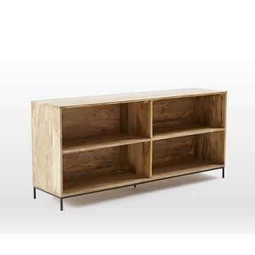 Industrial Storage Bookcase, Mango - West Elm