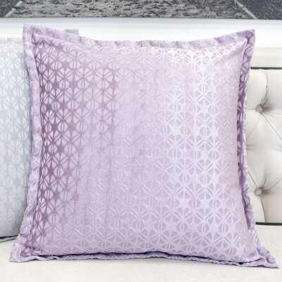 Faya Jacquard Outdoor Square Pillow Cover & Insert - Wayfair