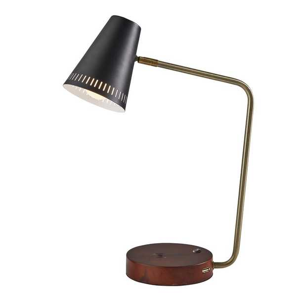 Adesso Morris Charge Wireless Charging Desk Lamp - Home Depot