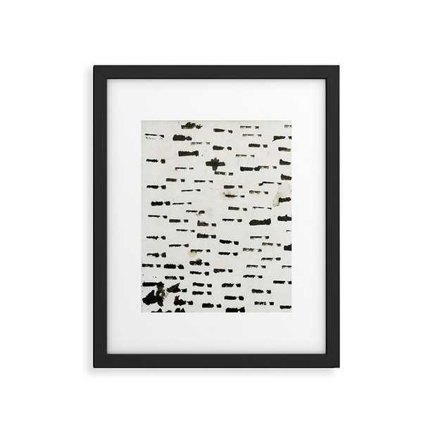 "Wabi Sabi 1601 by Iris Lehnhardt, Modern Framed Art Print, Black,24"" x 36"" - Cove Goods"