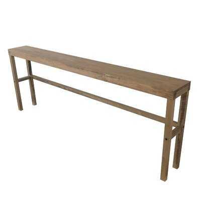 "Leyland 84"" Solid Wood Console Table - Wayfair"