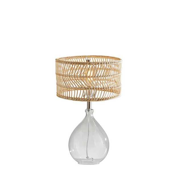 Adesso Cuba Teardrop Table Lamp - Home Depot