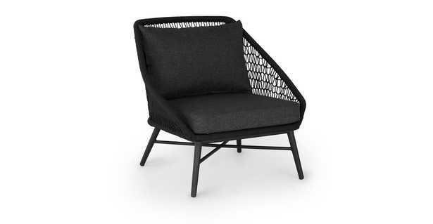 Tupo Slate Gray Lounge Chair - Article
