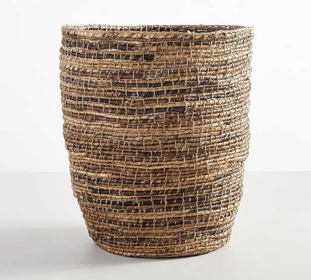 Wynne Coil Abaca Tote Basket - Pottery Barn