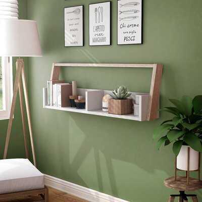 Swanscombe Open Shelves Floating Shelf - Wayfair