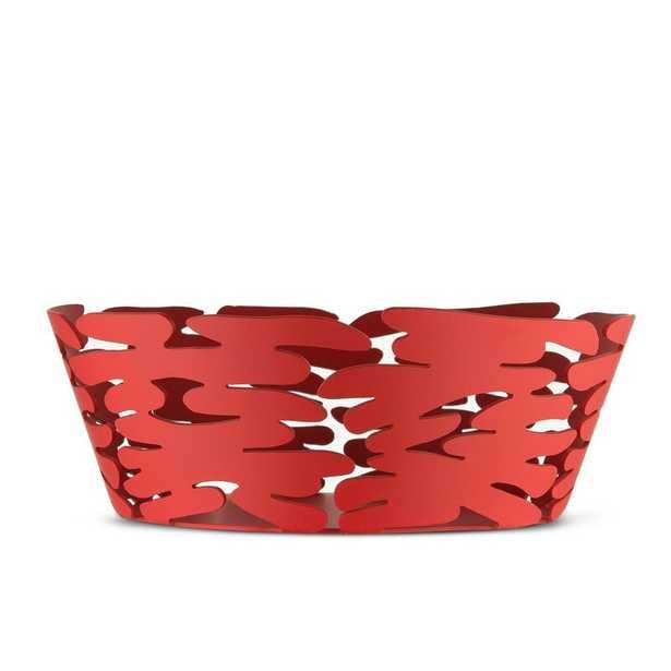 "Alessi Decorative Bowls Color: Red, Size: 2.56"" H x 7.09"" W x 7.09"" D - Perigold"