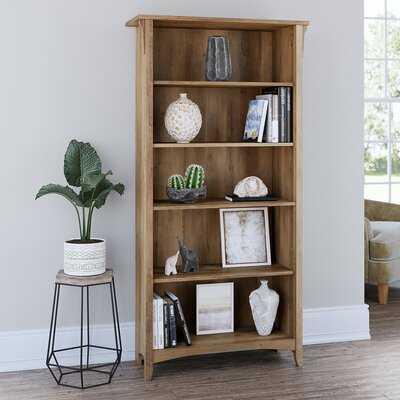 """Salina 62.95"""" H x 31.73 W Standard Bookcase - Wayfair"""