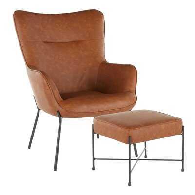 Tedeschi Lounge Chair and Ottoman - Wayfair