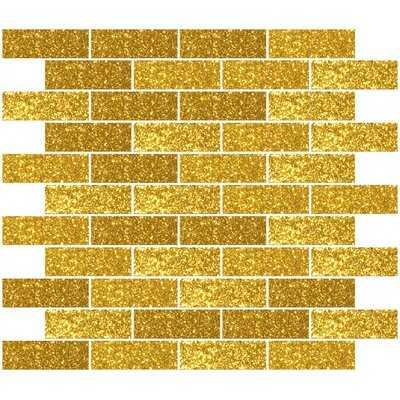 """1"""" x 3"""" Glass Subway Tile - Birch Lane"""