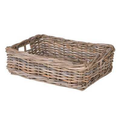Skiatook Shelf & Under Bed Rattan Basket - Wayfair