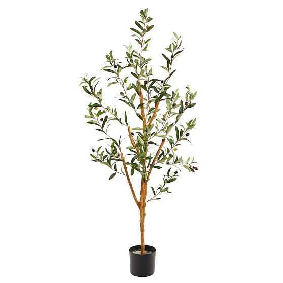 Faux Olive Tree, 3.5 feet - West Elm