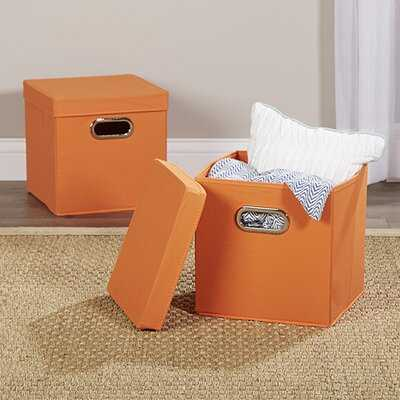 Wayfair Basics Fabric Box (set of 2) - Wayfair