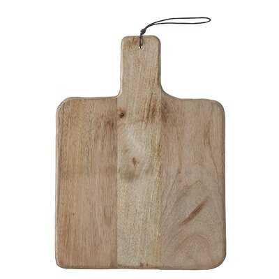 Union Rustic Wood Cutting Board - Birch Lane