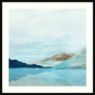 Coastal Mountains - Picture Frame Painting Print on Paper - Wayfair