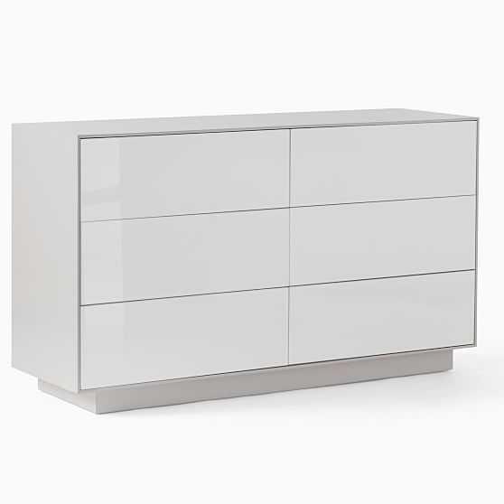 Emilia 6-Drawer Dresser, Haze - West Elm
