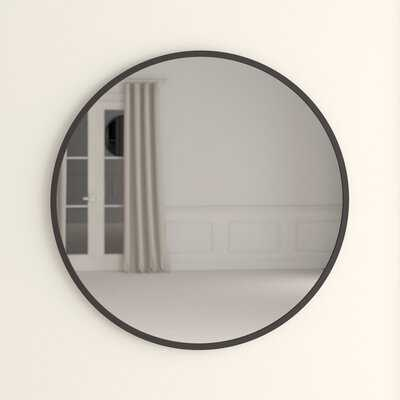 "Hub 37"" Modern and Contemporary Accent Mirror - Wayfair"