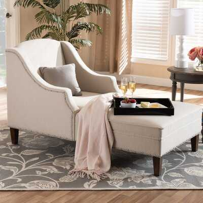 Ezio Modern and Contemporary Chaise Lounge - Wayfair