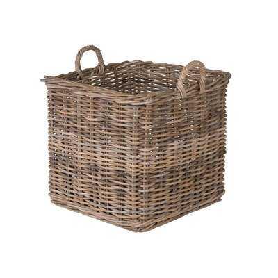 Skiatook Square Rattan Basket - Wayfair