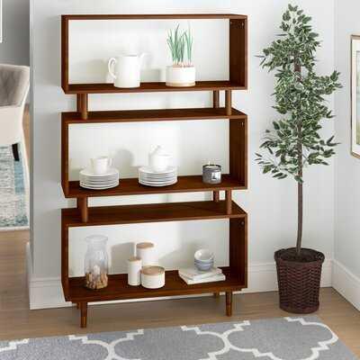 Alyse Standard Bookcase - Wayfair