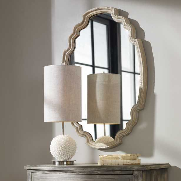 Ludovica Aged Wood Mirror - Hudsonhill Foundry