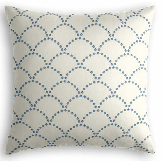 """Loom Decor Embroidered Throw Pillow Size: 22"""" x 22"""" - Perigold"""