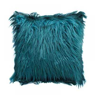 "Luxury Series Merino Style Fur Throw Nirvelli Cushion Cover 18"" X 18"" 45Cm X 45Cm - Wayfair"