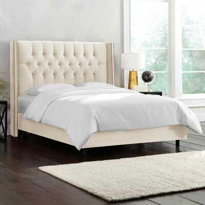 Gerrald Upholstered Standard Bed, queen - Wayfair