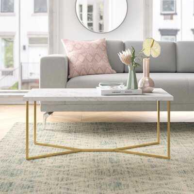 Devito Cross Legs Coffee Table - Wayfair