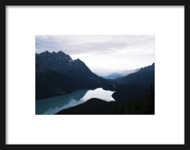 Summer Night on Peyto Lake  by Tracy Zhang for Artfully Walls - Artfully Walls