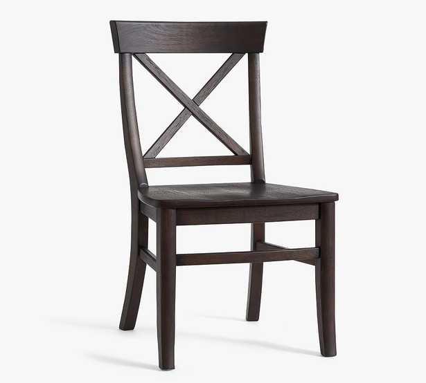 Aaron Dining Side Chair, Coffee Bean - Pottery Barn