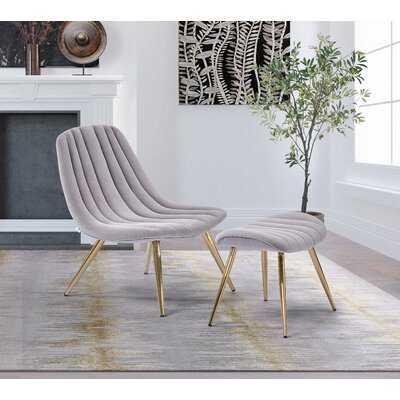 Gatling Lounge Chair and Ottoman - Wayfair