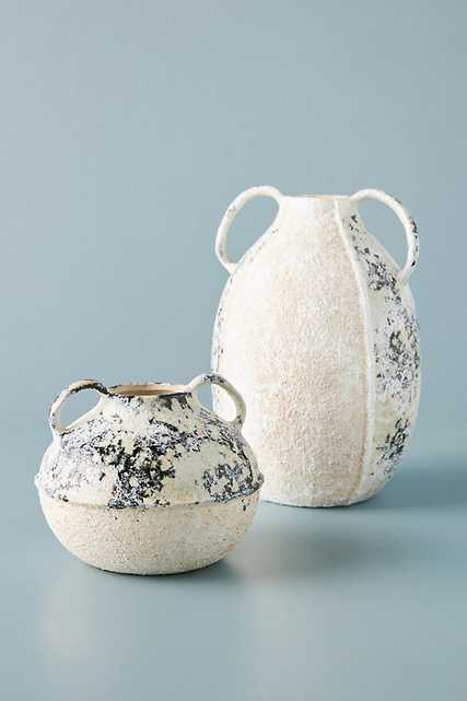 Croatia Vase By Anthropologie in Blue Size S - Anthropologie