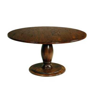Pedestal Solid Wood Dining Table - Wayfair