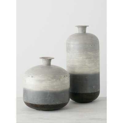 Oliwier 2 Piece Table Vase Set - Wayfair