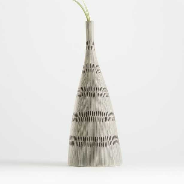 Nidia Large Single Stem Vase - Crate and Barrel