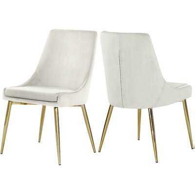 Ellenberger Upholstered Dining Chair (Set of 2) - Wayfair