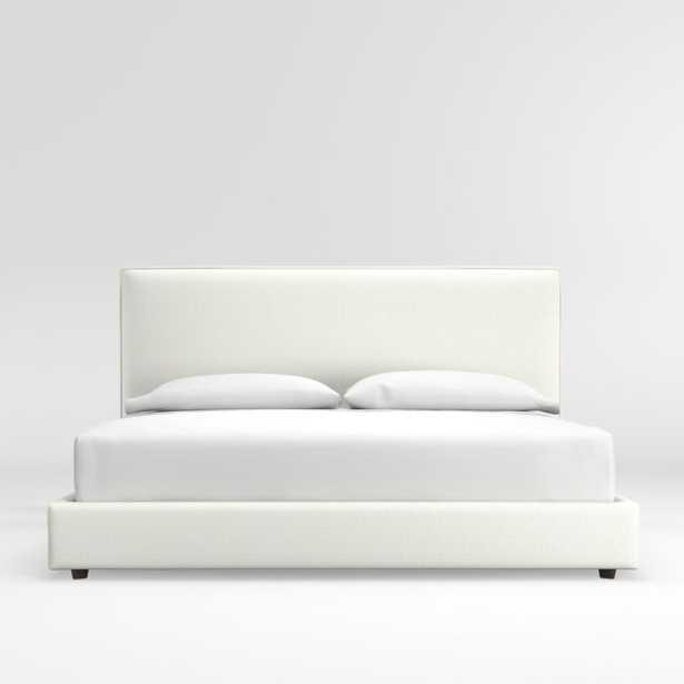 Lotus California King Bed - Crate and Barrel