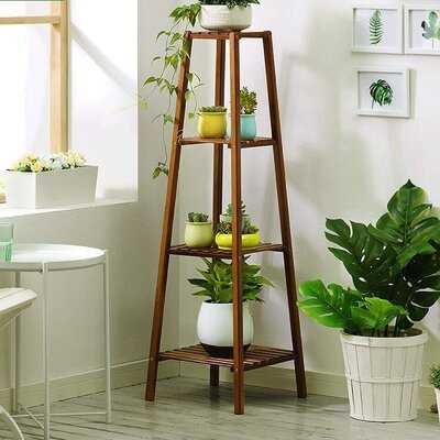 Rectangular Corner Plant Stand - Wayfair