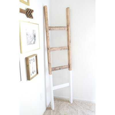 Two Tone 6' Blanket Ladder - AllModern
