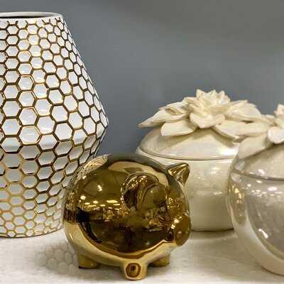 Hoppus Ceramic Pig - Wayfair