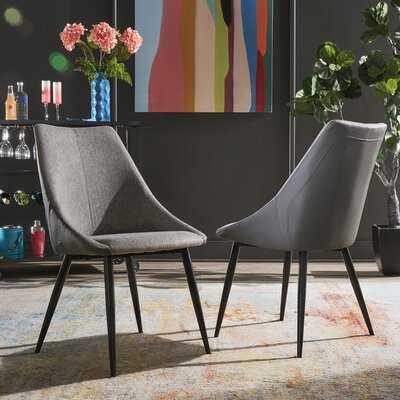 Paugh Upholstered Side Chair (Set of 2) - Wayfair