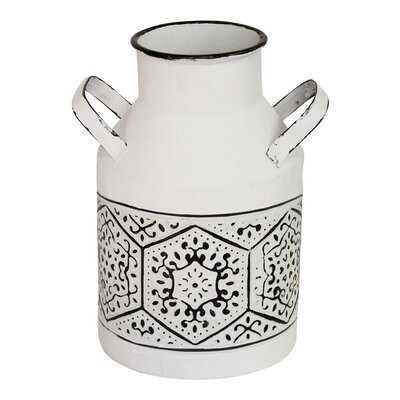 Amberlin Metal Table Vase - Wayfair