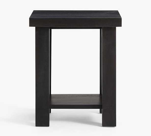 Reed End Table, Warm Black - Pottery Barn